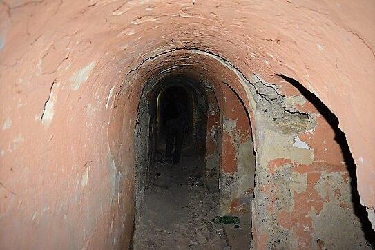 Špicer dvorac podrum