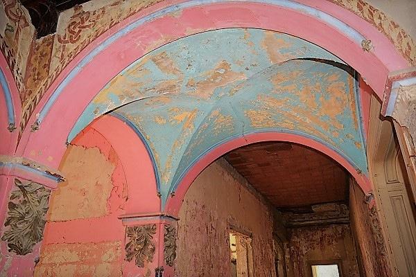 Špicer dvorac ukrasi na enterijeru